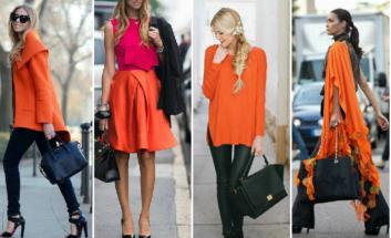 Как правильно сочетать цвета в одежде красный с черным