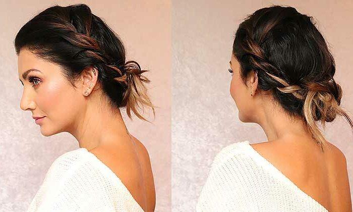 Прически, которые замаскируют жирные корни волос. 6 вариантов