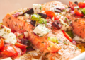 лосось по-гречески