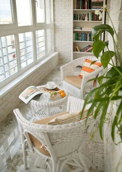 идеи для организации балкона