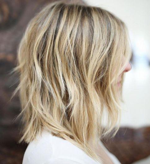 блондинка перья