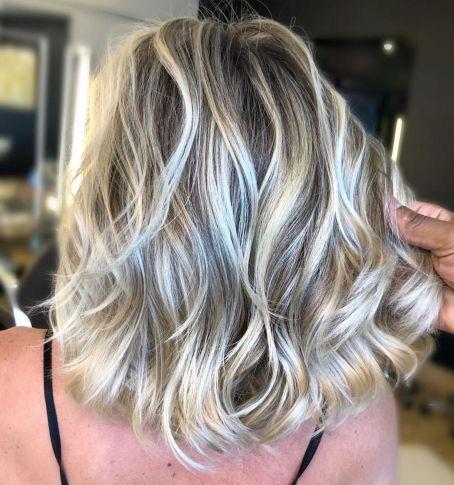 коричневый и блонд