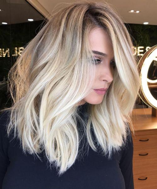 блонд длинные