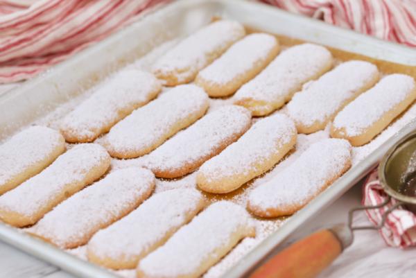 Легкий и вкусный рецепт печенья Савоярди