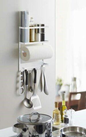идеи для маленькой кухни: держатель полотенец