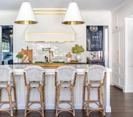 Дизайн интерьер красивой кухни