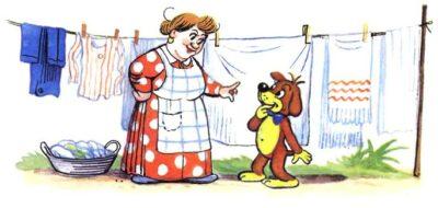 Как освежить кухонные полотенца
