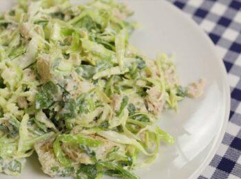 Вкусные салаты из капусты без майонеза