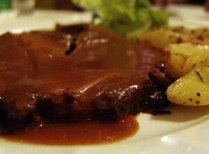 соус к мясу с красным вином