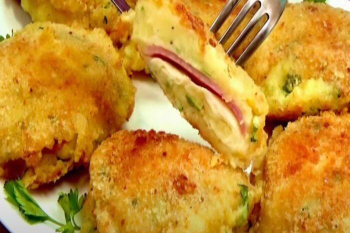 Быстрый и вкусный рецепт из картошки